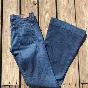 Rare Lucky  Brand Sundown Trousers EUC size 27